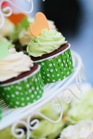 closedup: Closed-up for cup cake