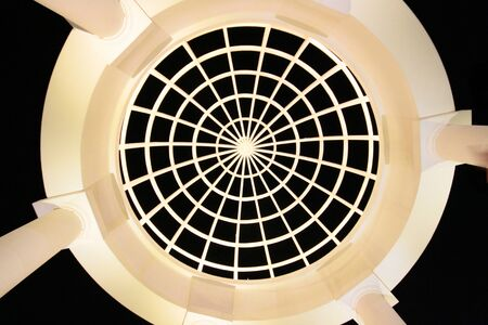 ceiling: geometrical ceiling, dome ceiling Stock Photo