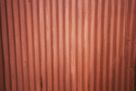 rust red: Red Zinc and rust wall background