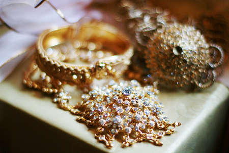 Thai jewelry and accessories wedding