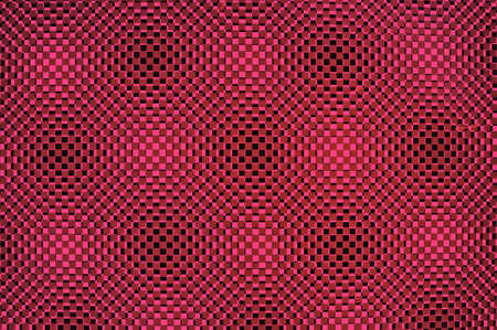 Three-dimensional design in pink photo