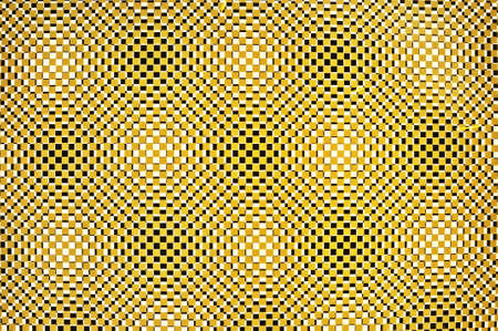 Three-dimensional design in yellow