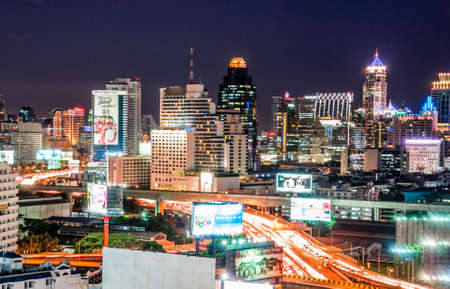 City Scape of  Bangkok Stock Photo