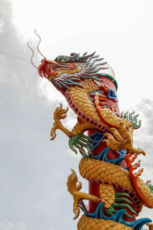 Chinese dragon Stock Photo - 17997895