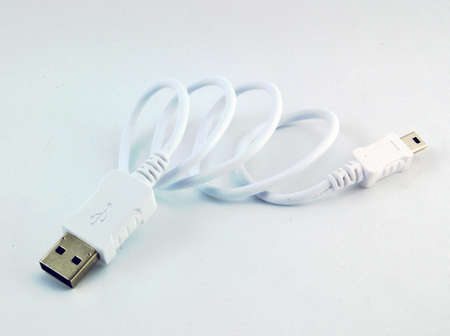 2 0: A USB  universal serial bus  cable  USB 2 0 type