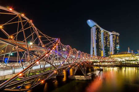 marina bay: Marina Bay Sands Resort Hotel