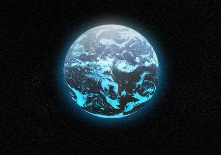 plannet earth Stock Photo - 18283435
