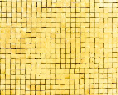 Vertical gold mosaic  Stock Photo