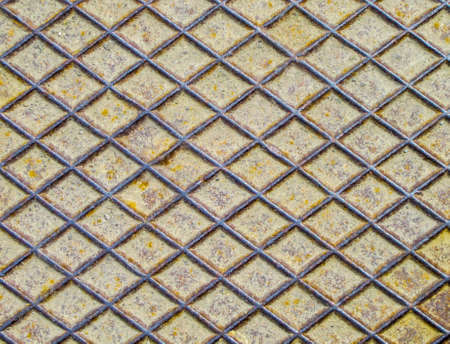 grunge diamond rusty metal background Stock Photo - 19279382