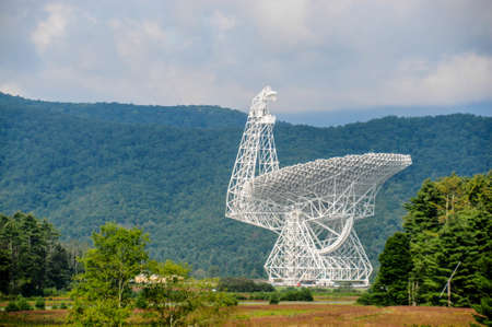 radio telescope: modern radio telescope - satellite dish