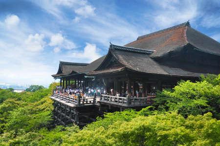 교토의 기요 미즈 데라 사원 스톡 콘텐츠 - 20425214