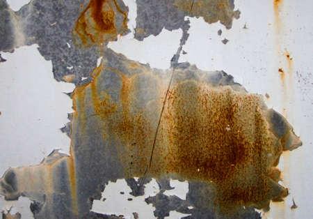 오래 된 녹슨 금속 질감 된 배경