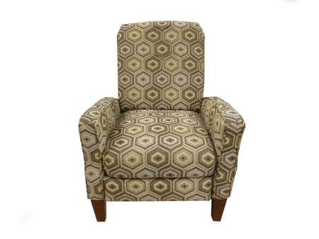 의자에 흰색 분리