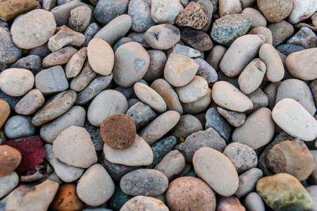 바다 돌 배경