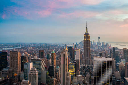 New York cityscape photo
