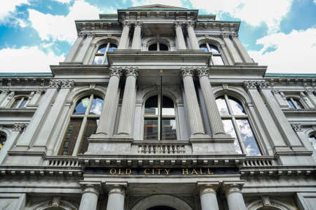 Old city hall of Boston city