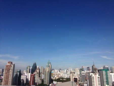 방콕 도시 skyscape