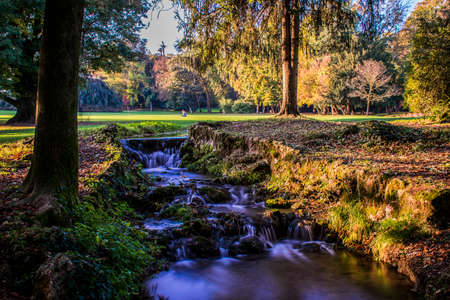 monza: Autumn in Park of Monza - Italy
