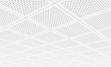 Acoustic ceiling tiles 写真素材