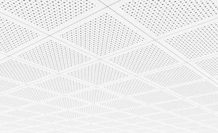 Acoustic ceiling tiles Stock Photo