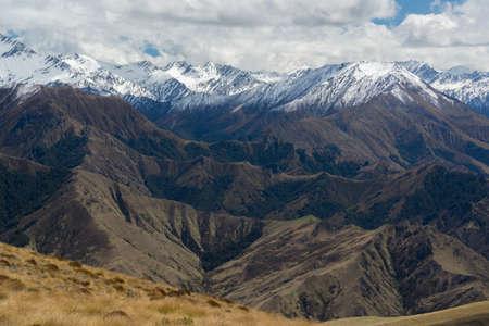 Mountain landscape near Queenstown, New Zealand