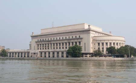 Post office building. Manila, Philippines Stock Photo - 103406879
