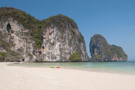 Beach on island near Sukorn, Thailand