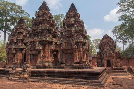 Temple in Angkor, Cambodia