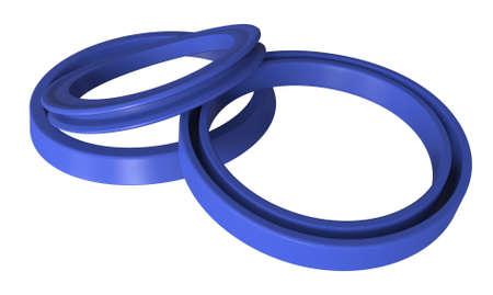 Rubber sealing 스톡 콘텐츠