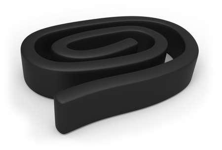 Flexible rubber magnetic tape 版權商用圖片