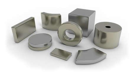 ネオジム磁石 写真素材 - 103500038