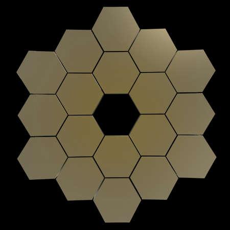 Segmented telescope mirror
