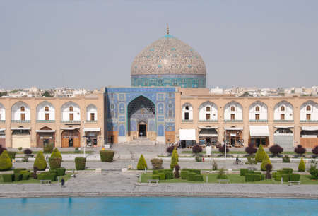 Sheikh Lotf Allah Mosque in Isfahan, Iran