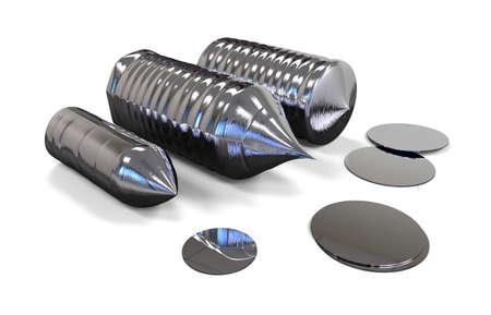 Silicon ingot (solar grade)