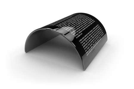 Tablette générique flexible