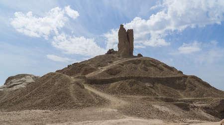 Ruin of the ziggurat in Borsippa, Iraq