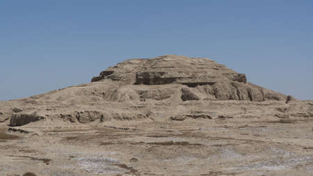The ruins of Eridu in Iraq