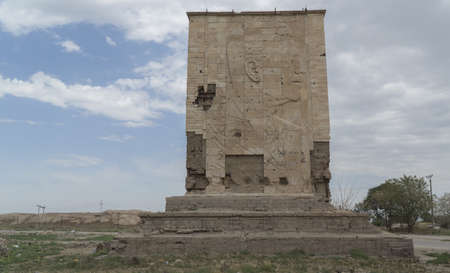 Saddam Hussein monument in Iraq, Babylon
