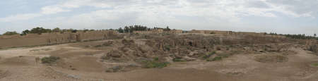 Ancient city of Babylon, Iraq
