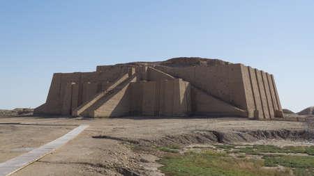 Grote Ziggurat van de stad Ur, Irak
