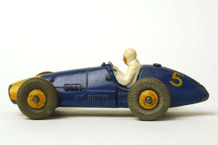 game drive: old miniature  race car