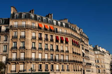 paris france: Building in Paris, France