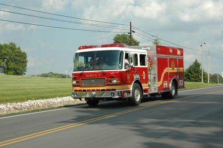 Fire Rescue Stockfoto