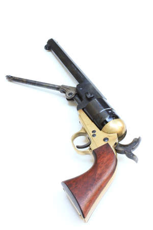 flintlock: black powder revolver