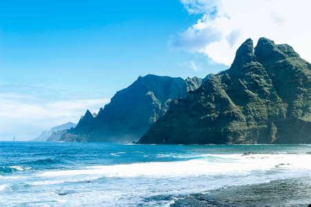 푼 타 이달고 산의 산악 풍경