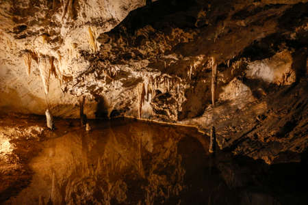 Carbonate concretes in Corchia cave
