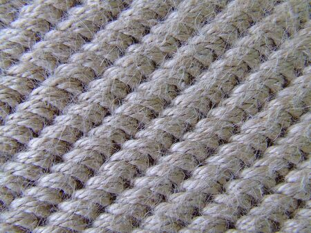 Texture of a foot rug