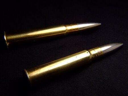 enfield: WW2 pallottole su fondo nero
