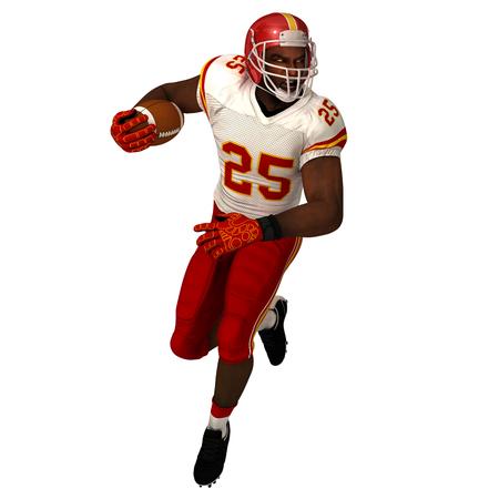 Black American football Player photo