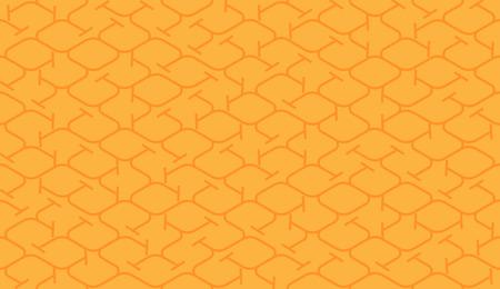 Isometric seamless pattern. Net lines background.